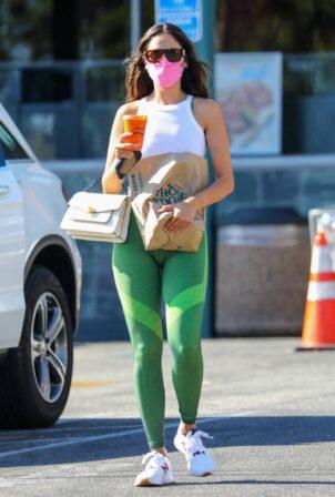 Eiza Gonzalez - Shops after a workout