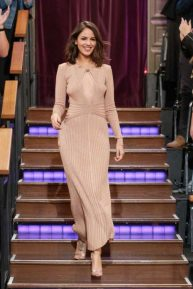 Eiza Gonzalez - The Late Late Show with James Corden in LA
