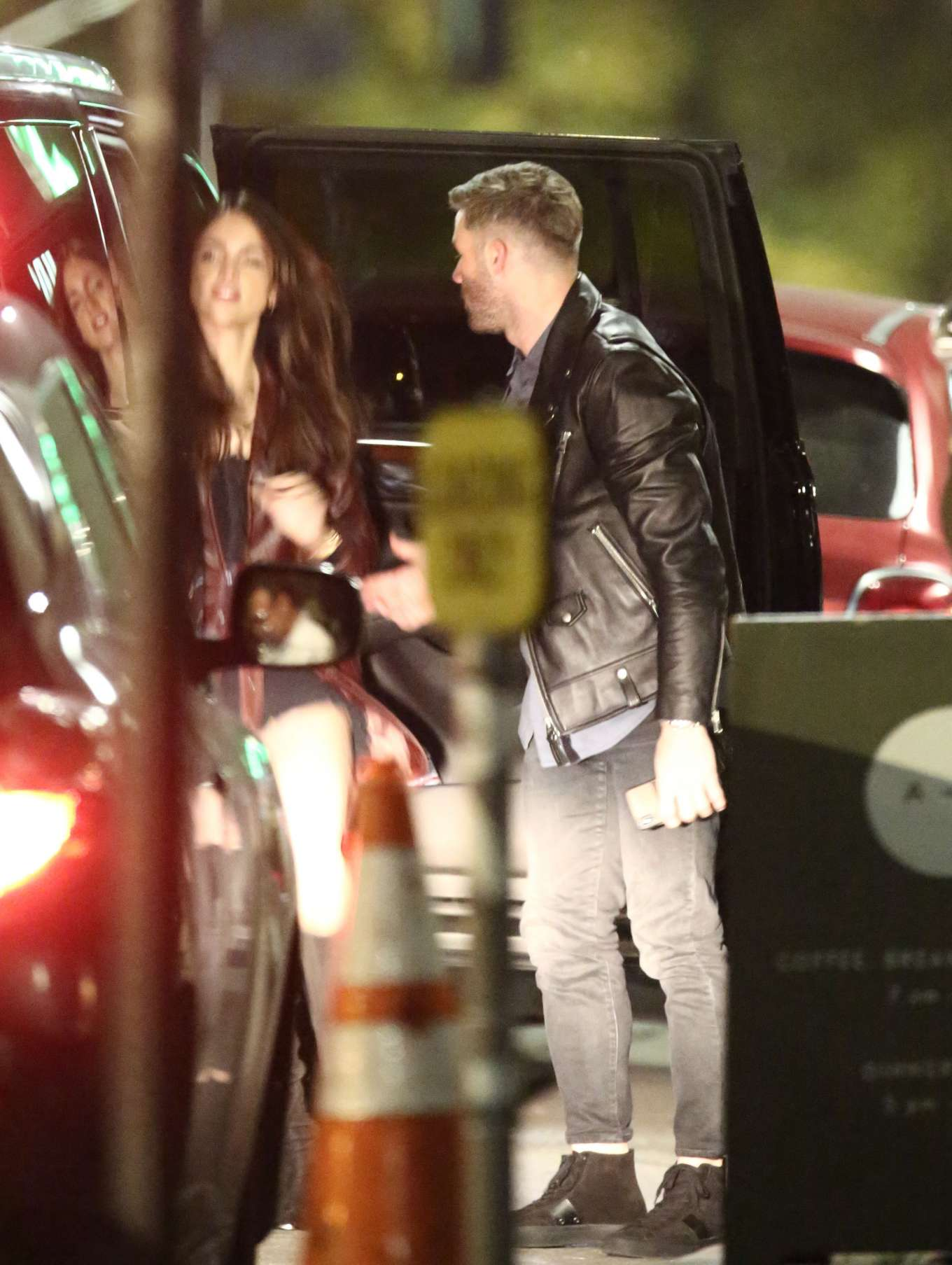 Eiza Gonzalez - Valentine's Day dinner date with NFL star Julian Edelman in Hollywood