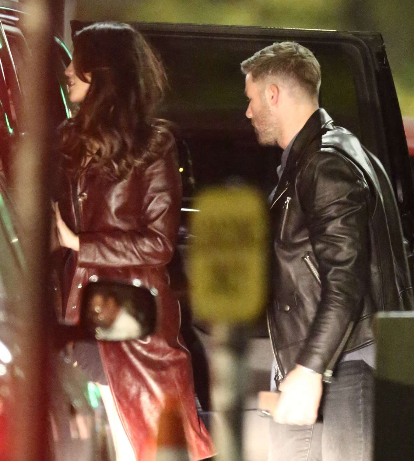 Eiza Gonzalez Valentines Day Dinner Date With Nfl Star Julian Edelman In Hollywood 13 Gotceleb