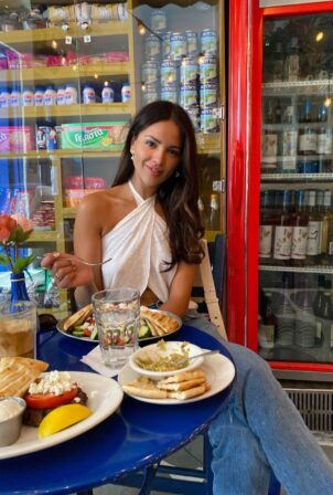 Eiza Gonzalez - Vogue NYFW photo diary September 2021