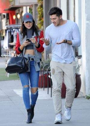 Eiza Gonzalez With a Friend Out in Los Angeles