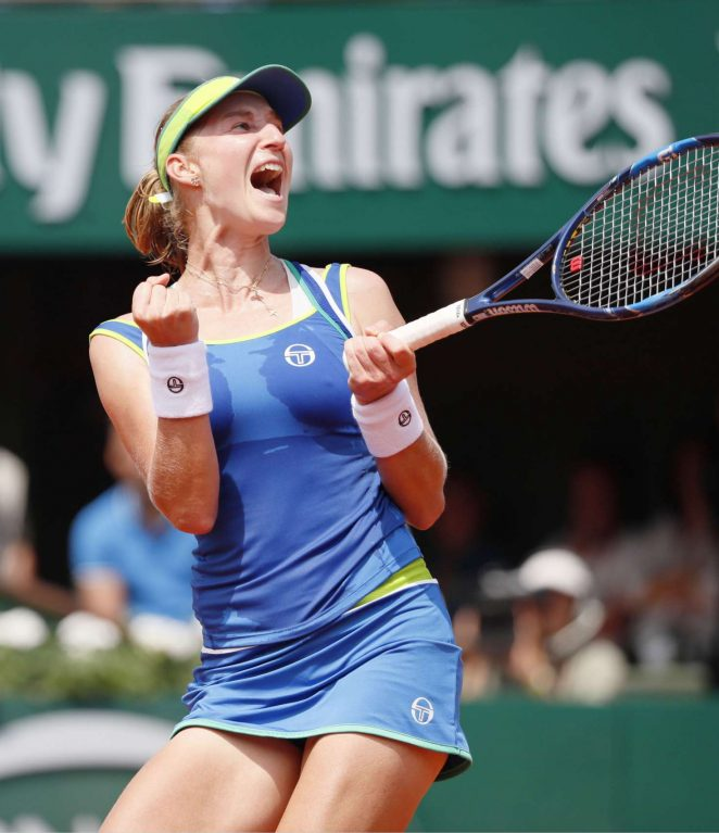 Ekaterina Makarova – 2017 French Open Tennis Tournament in Paris Rihanna