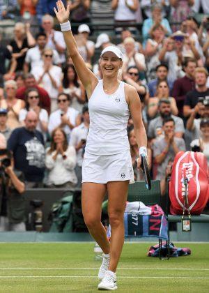 Ekaterina Makarova - 2018 Wimbledon Tennis Championships in London Day 3