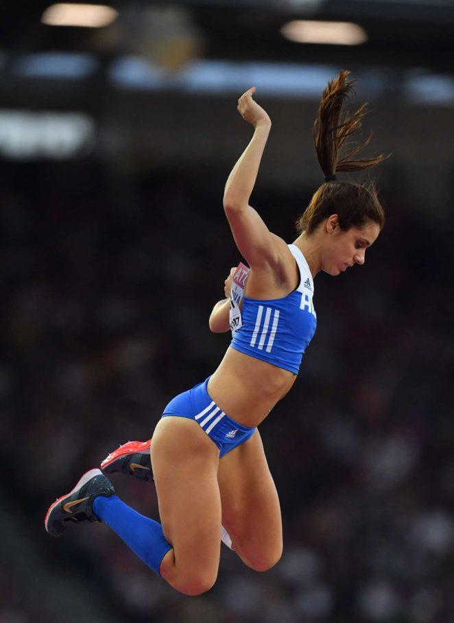 Ekaterini Stefanidi - Women's Pole Vault Final at 2017 IAAF World Championships in London