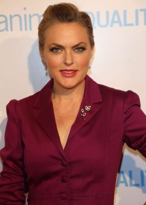 Elaine Hendrix - Animal Equality 10th Anniversary Celebration Honoring Moby in LA