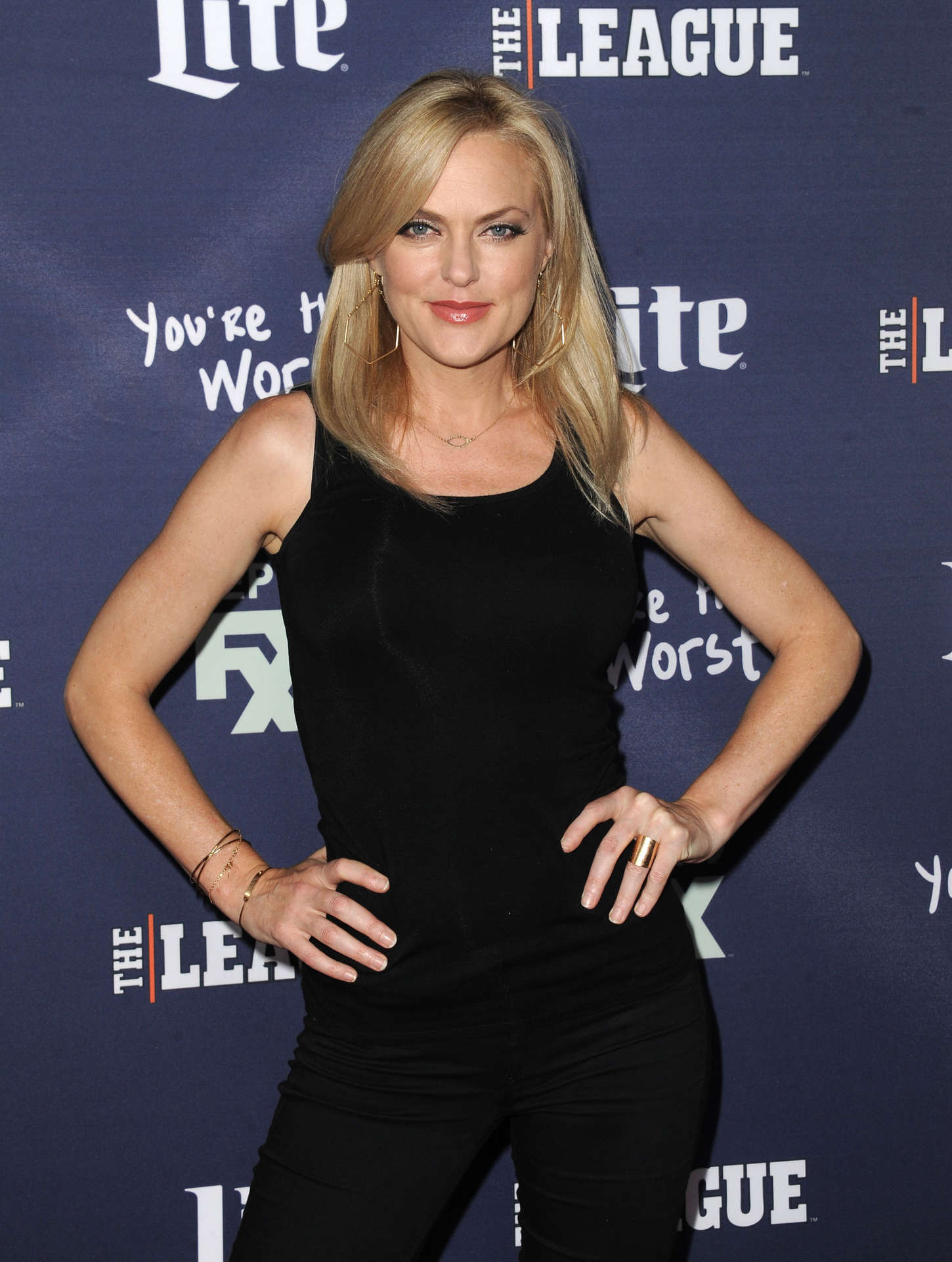elaine hendrix look alike