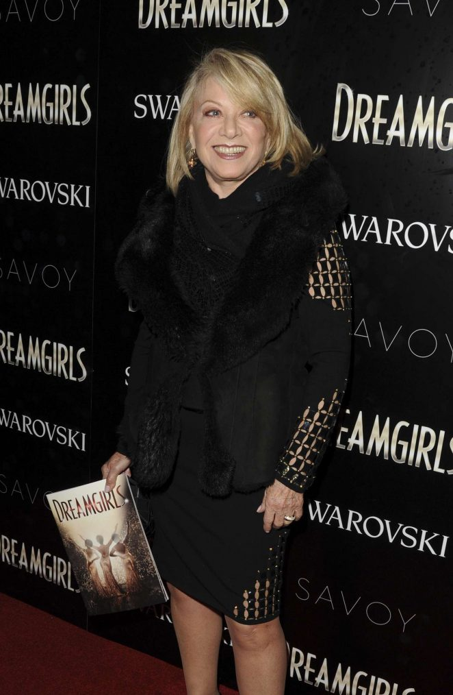 Elaine Paige - Dreamgirls Press Night in London