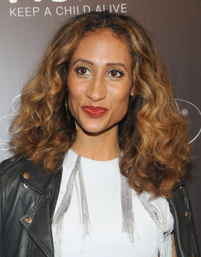 Elaine Welteroth - Keep a Child Alive's 13th Annual Black Ball in New York