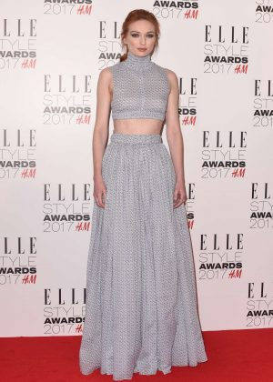 Eleanor Tomlinson - 2017 Elle Style Awards in London