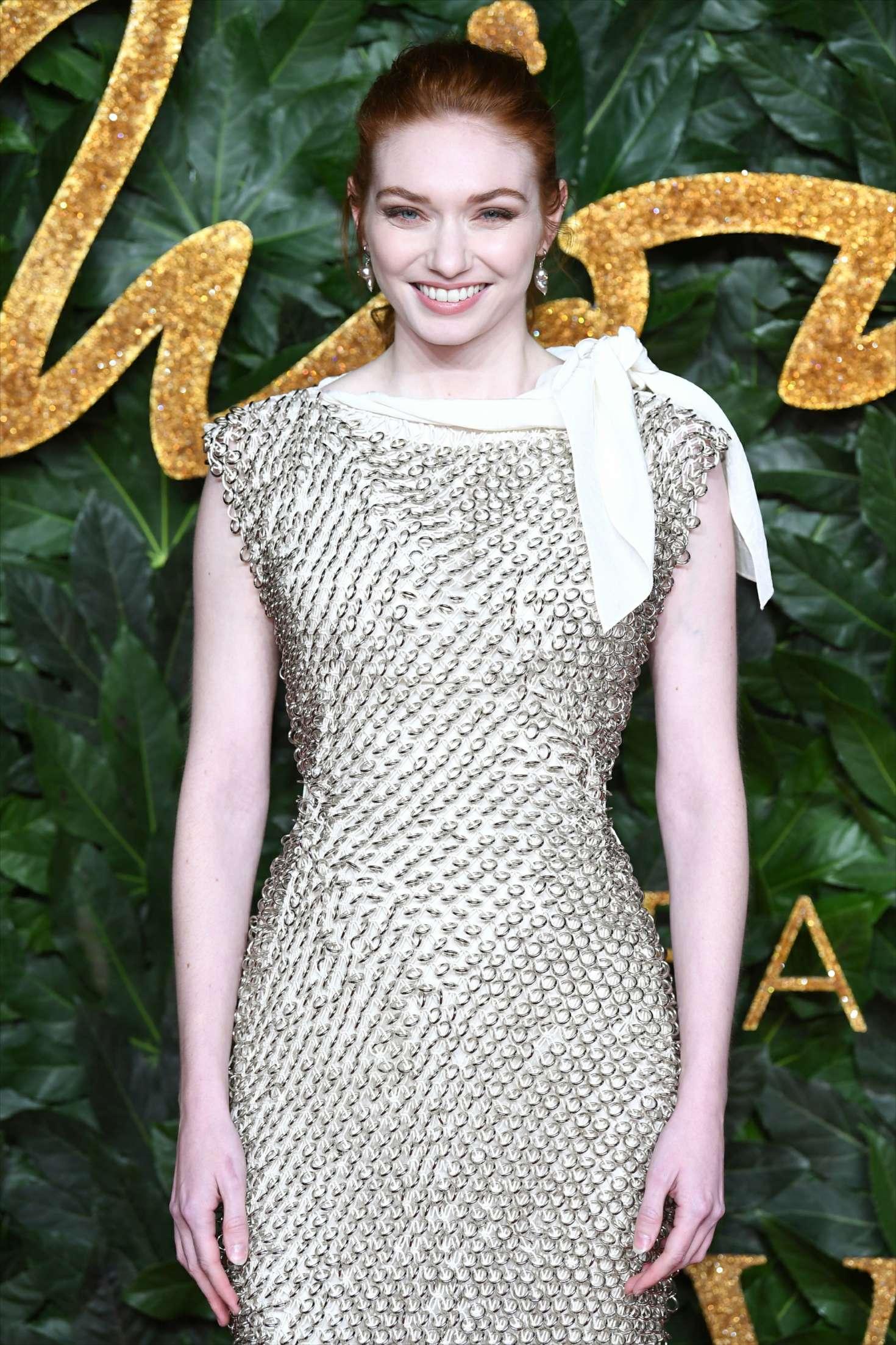 Eleanor Tomlinson - 2018 British Fashion Awards in London