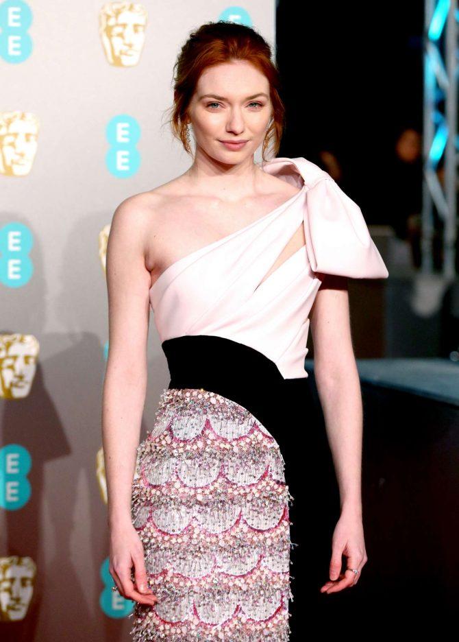 Eleanor Tomlinson - 2019 British Academy Film Awards in London