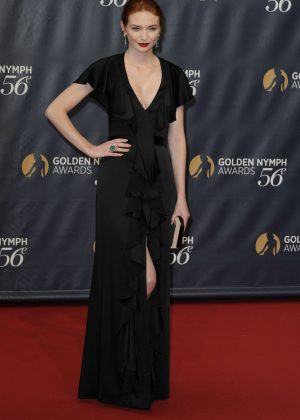 Eleanor Tomlinson - 56th Montecarlo Television Festival Closing Gala in Monaco