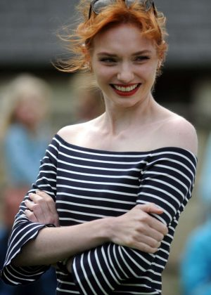 Eleanor Tomlinson - Adlestrop Open Day and Fun Dog Show in Gloucestershire