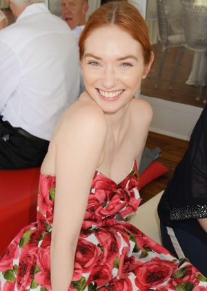 Eleanor Tomlinson - Audi Polo Challenge in Berkshire