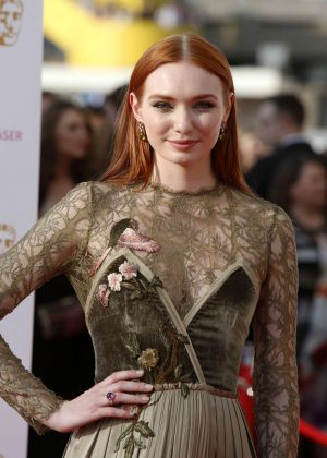 Eleanor Tomlinson - BAFTA TV Awards 2016 in London