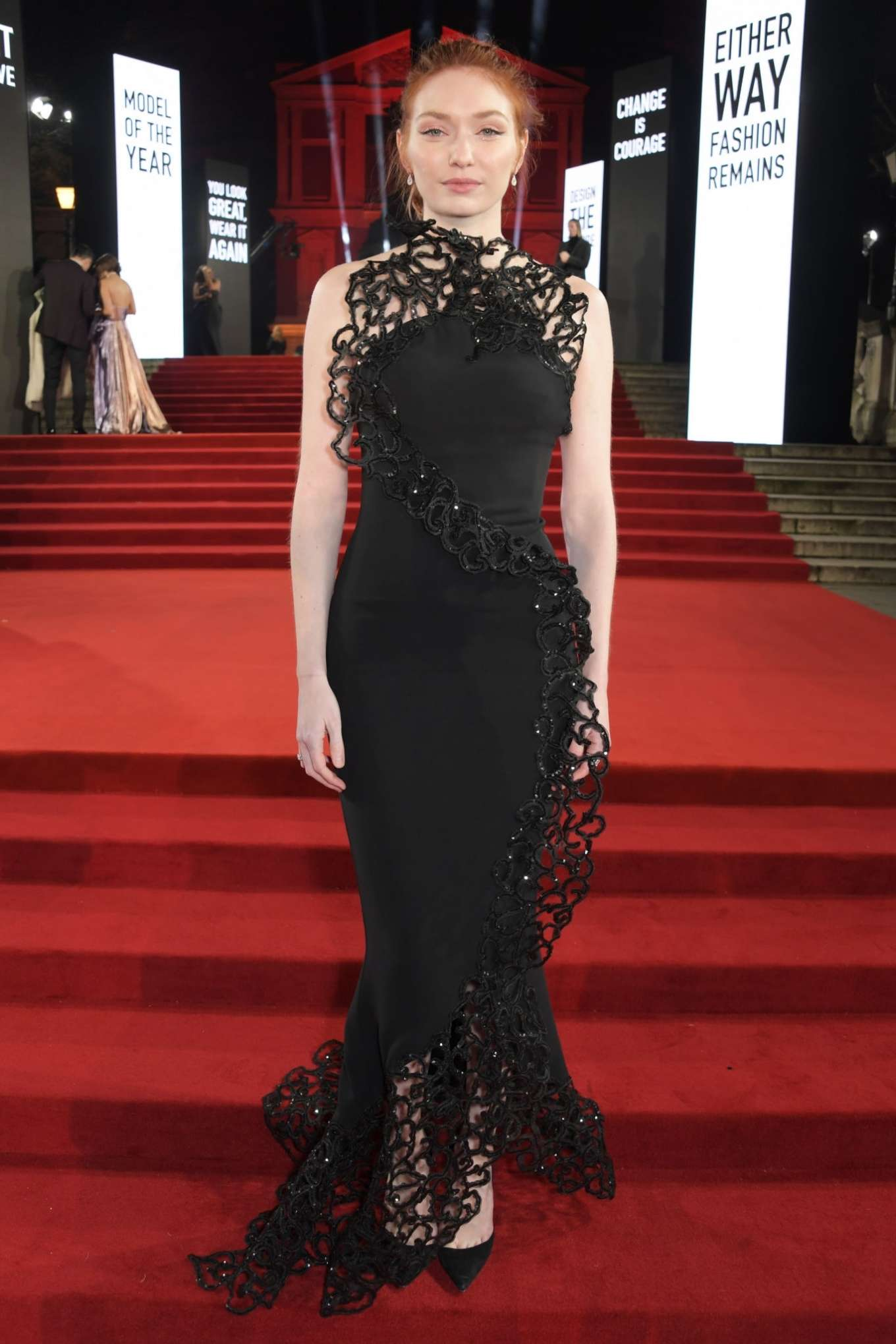 Eleanor Tomlinson 2019 : Eleanor Tomlinson – Fashion Awards 2019 in London-09