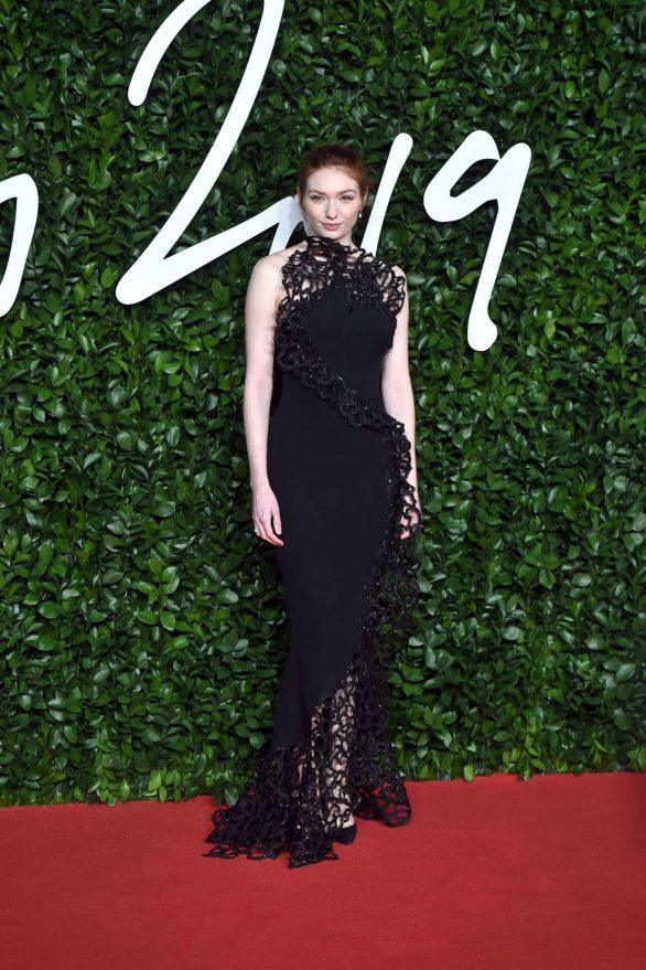Eleanor Tomlinson 2019 : Eleanor Tomlinson – Fashion Awards 2019 in London-11