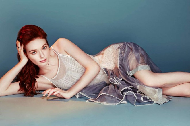 Eleanor Tomlinson - You Magazine (March 2015)