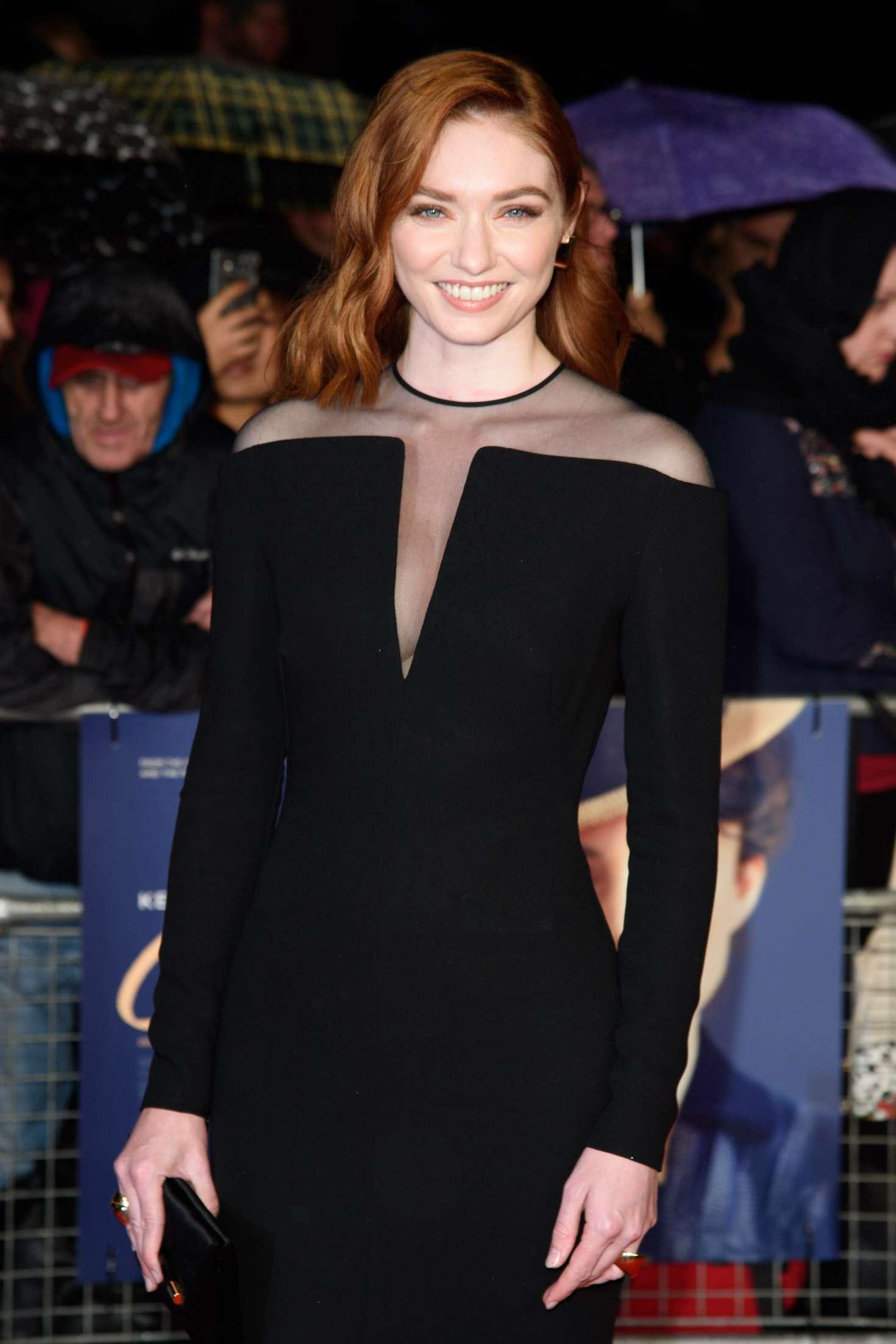 Eleanor Tomlinson - 'Colette' Premiere at 2018 BFI London Film Festival