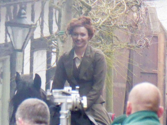 Eleanor Tomlinson: Filming new BBC drama War of the Worlds