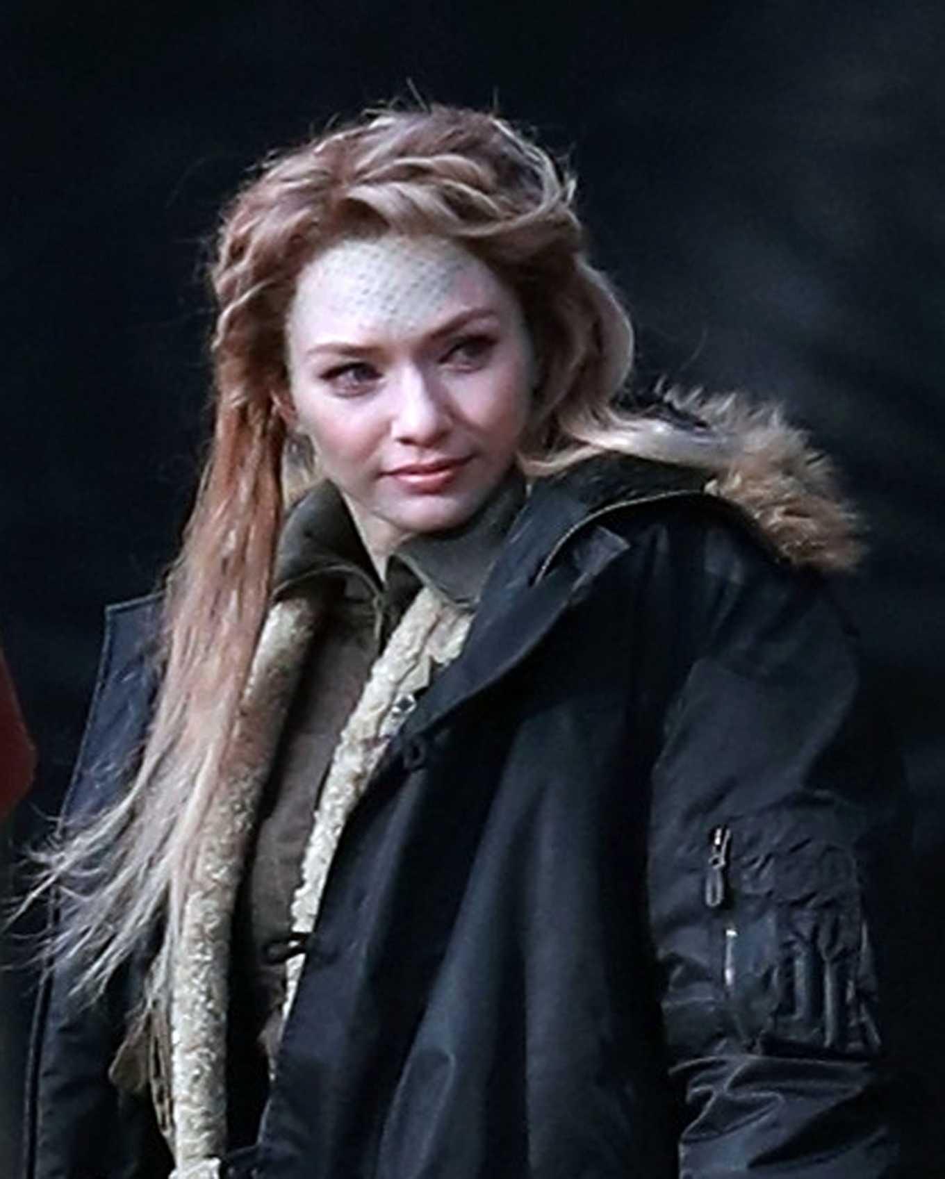Eleanor Tomlinson 2020 : Eleanor Tomlinson – Filming scenes for the upcoming Sky Drama Intergalactic in Cheshire-08