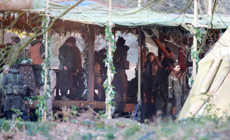 Eleanor Tomlinson 2020 : Eleanor Tomlinson – Filming scenes for the upcoming Sky Drama Intergalactic in Cheshire-13