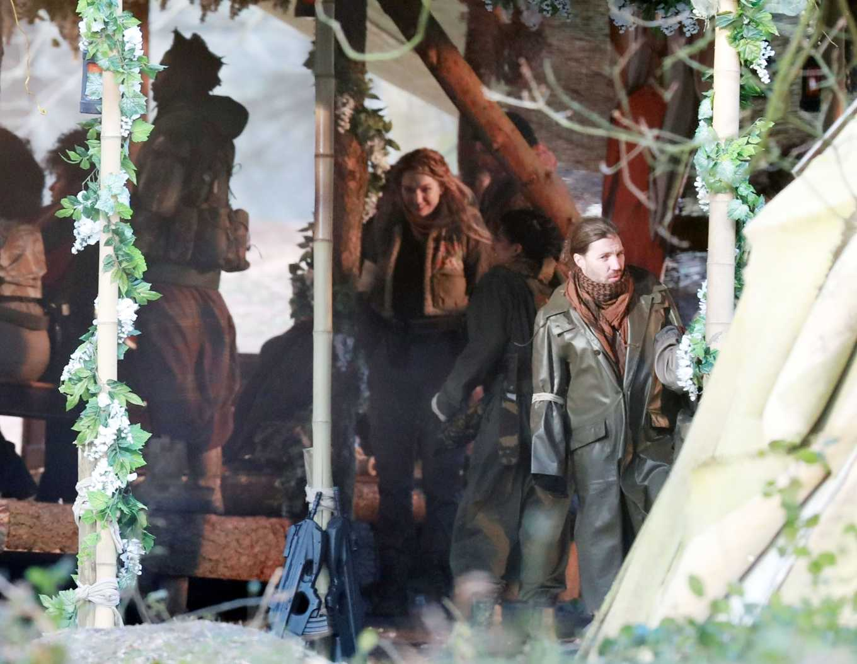 Eleanor Tomlinson 2020 : Eleanor Tomlinson – Filming scenes for the upcoming Sky Drama Intergalactic in Cheshire-15