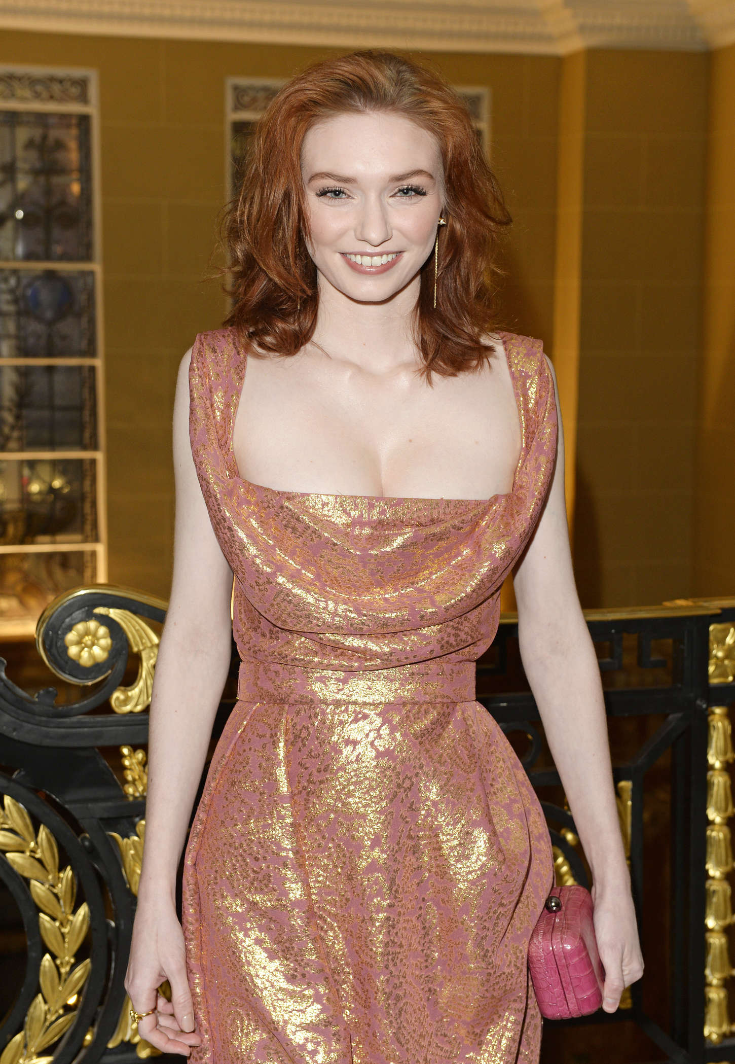 Eleanor Tomlinson - Lancome Loves Alma Pre-BAFTA Party in London