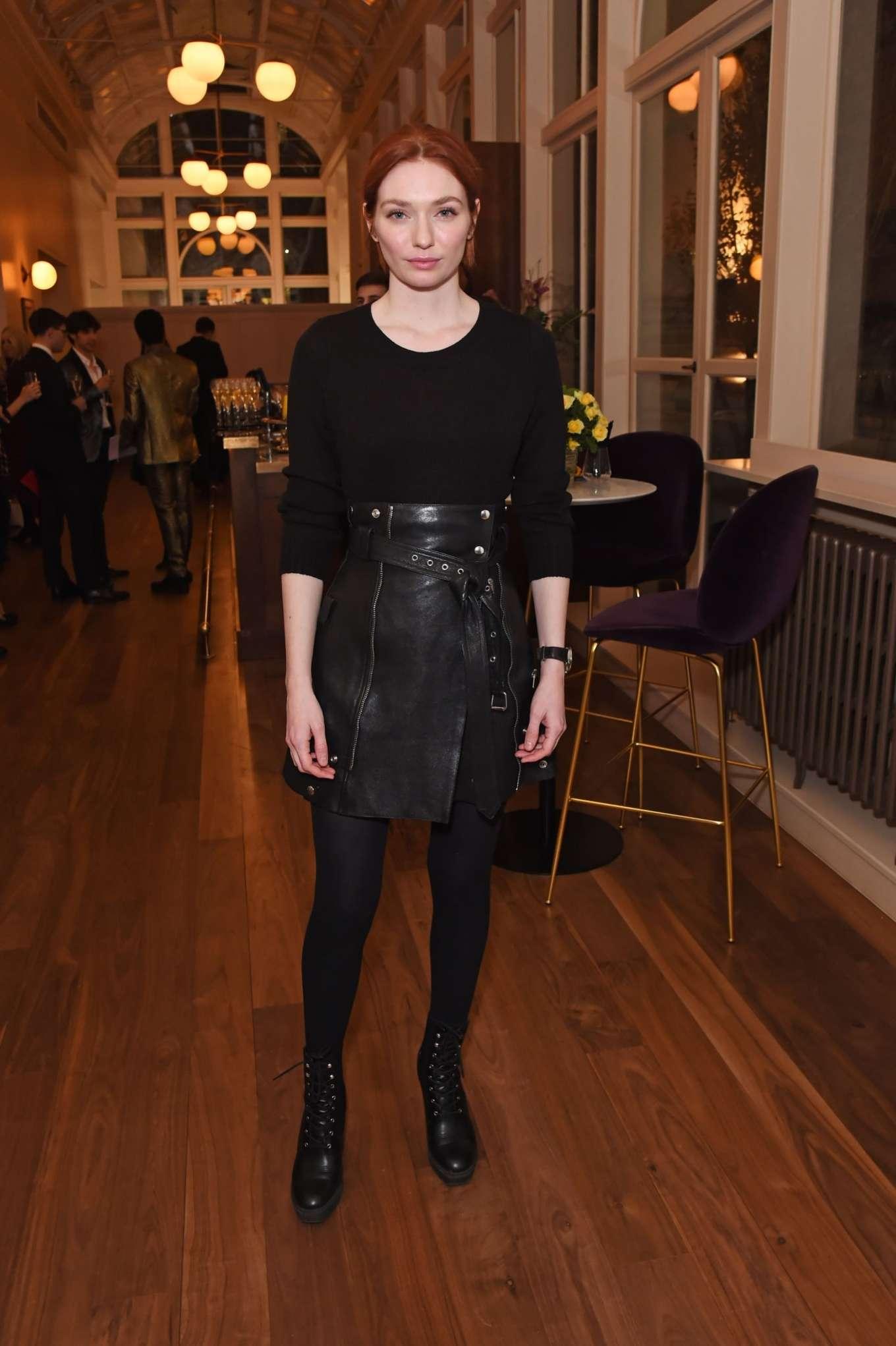 Eleanor Tomlinson 2020 : Eleanor Tomlinson – Press night pre-show reception for La Boheme-02