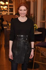 Eleanor Tomlinson - Press night pre-show reception for 'La Boheme' in London