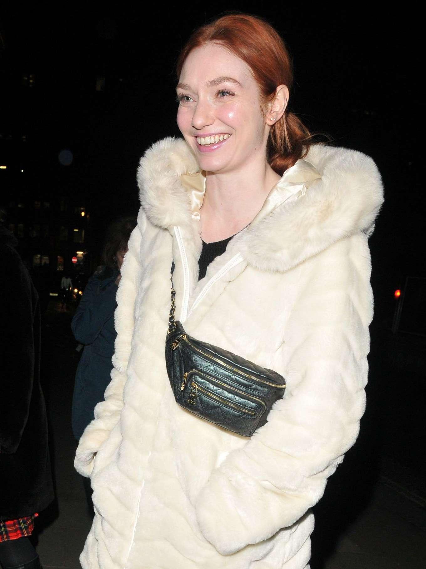 Eleanor Tomlinson 2020 : Eleanor Tomlinson – Press night pre-show reception for La Boheme-14