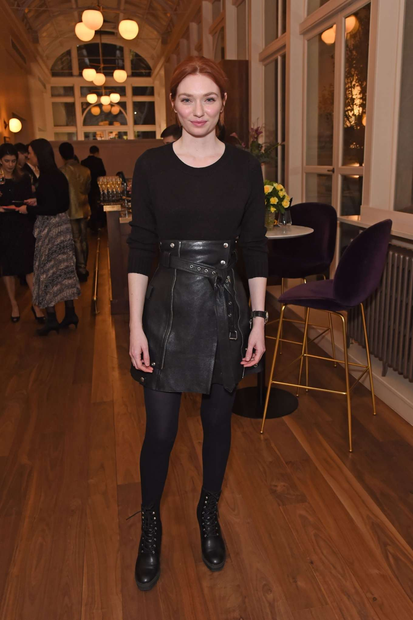 Eleanor Tomlinson 2020 : Eleanor Tomlinson – Press night pre-show reception for La Boheme-19
