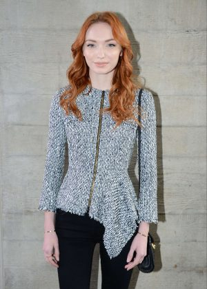 Eleanor Tomlinson - Roland Mouret Show at 2017 LFW in London