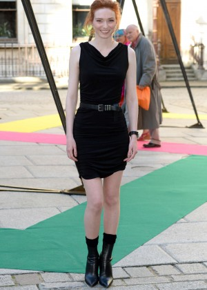 Eleanor Tomlinson - Royal Academy of Arts Summer Exhibition in London