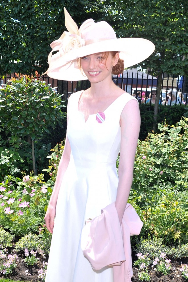 Eleanor Tomlinson - Royal Ascot 2015 Ladies Day in Berkshire