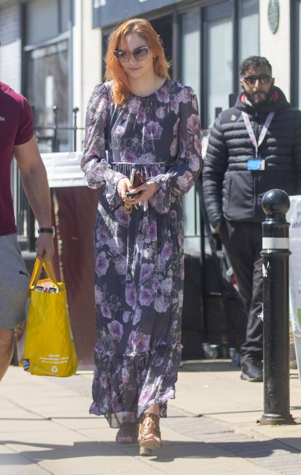 Eleanor Tomlinson - Shopping in Coventry