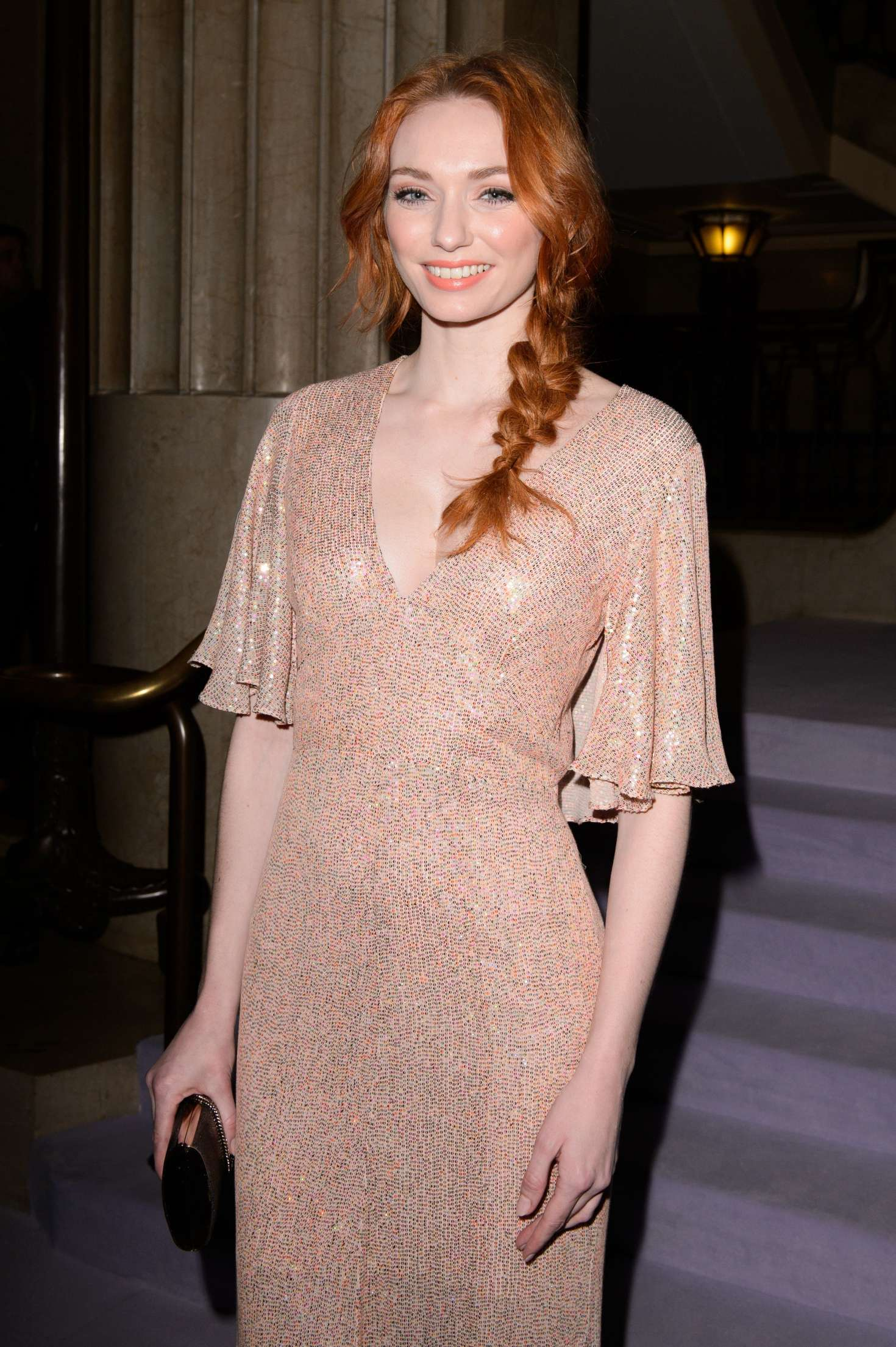 Eleanor Tomlinson - Temperley Show at 2017 LFW in London