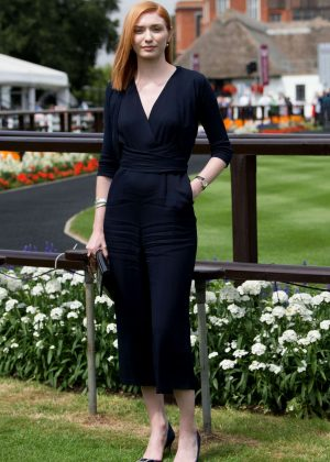 Eleanor Tomlinson - The Moet and Chandon July Festival Day 1 at Newmarket Racecourse