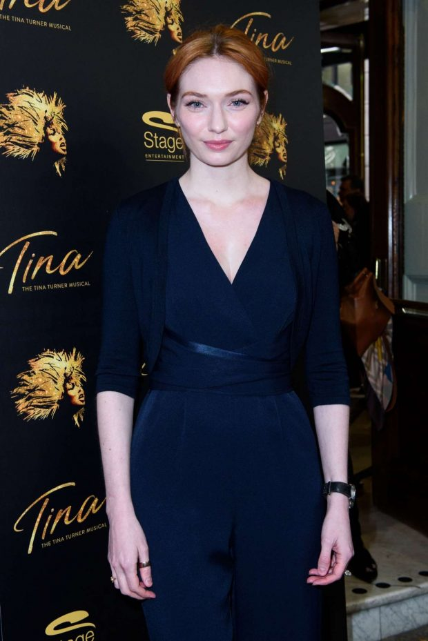 Eleanor Tomlinson - 'Tina - Tina Turner The Musical' 1st Birthday Gala in London