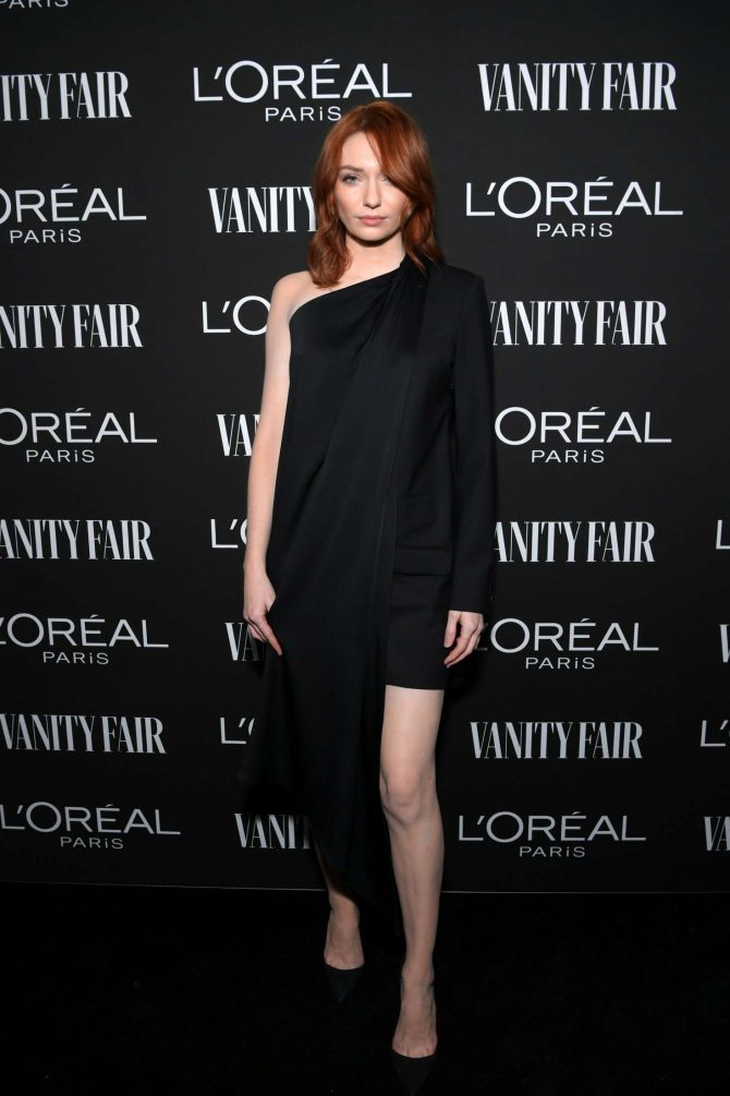 Eleanor Tomlinson - Vanity Fair and L'Oreal Paris Celebrate New Hollywood in LA