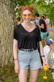 Eleanor Tomlinson - Veuve Clicquot Champagne Garden at The Wilderness Festival in Oxford