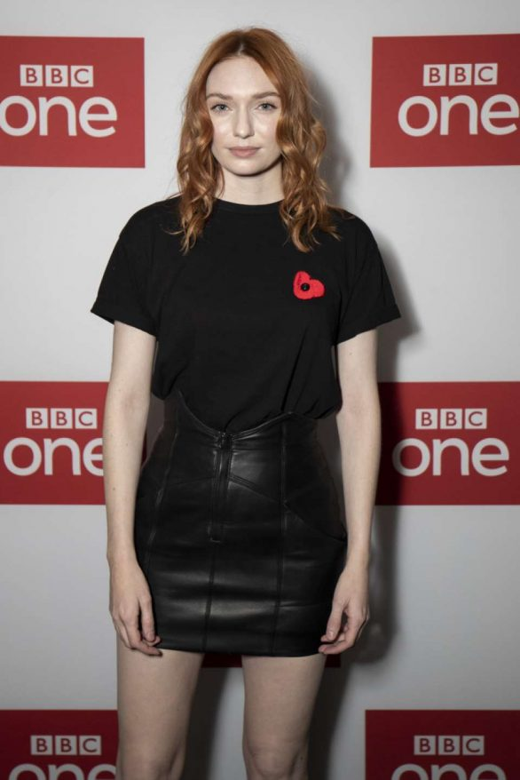 Eleanor Tomlinson - 'War Of The Worlds' BBC Preview in London
