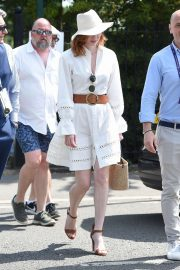 Eleanor Tomlinson - Wimbledon Tennis Championships 2019 in London