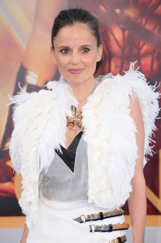 Elena Anaya - 'Wonder Woman' Premiere in Madrid