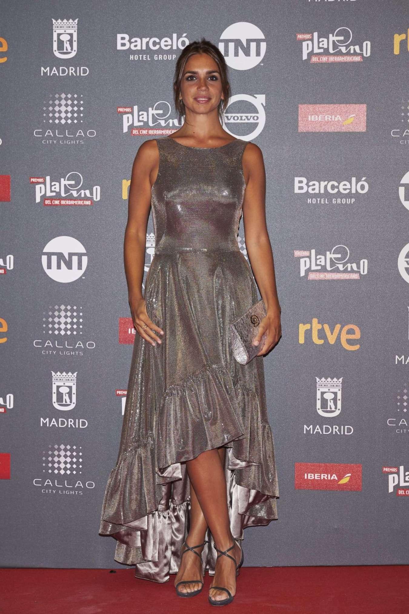 Elena Furiase – Platino 2017 Awards in Madrid