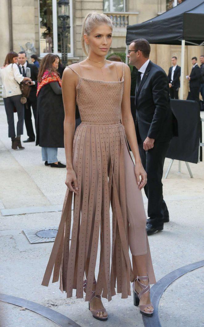 Elena Perminova - Valentino Fashion Show SS17 in Paris