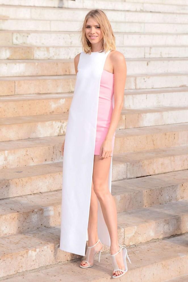 Elena Perminova: Versace Fashion Show -03