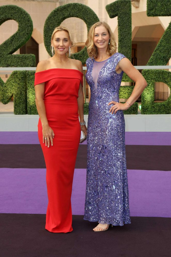 Elena Vesnina and Ekaterina Makarova - Wimbledon Champions Dinner 2017 in London