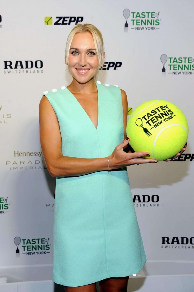 Elena Vesnina - Taste of Tennis Gala in NYC